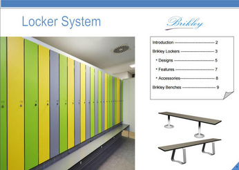 Brikley HPL Lockers