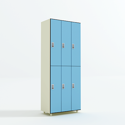 2 Tier Phenolic Lockers