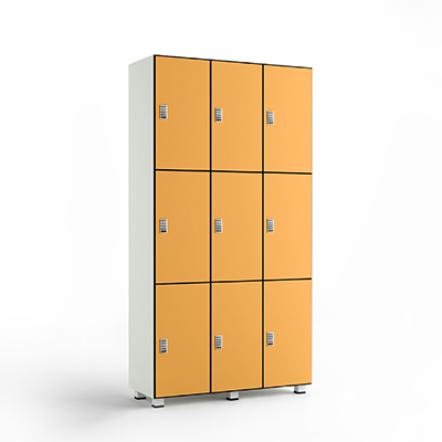 3 Tier Phenolic Lockers