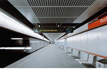Interior Metro Station